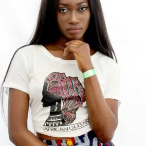 africanqueens.it t-shirt con logo 1